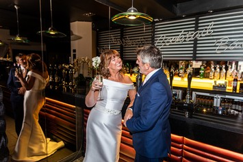 Claire and Eric Evening reception