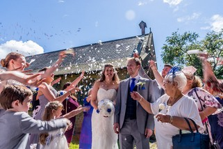 Wedding confetti - North East Wedding Photographer.jpg