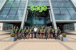 Sage Foundation - Life Cycle Charity Event Confetti - North East Wedding Photographer.jpg