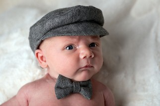 Newborn Baby Peaky Blinders costume - North East portrait Photographer.jpg