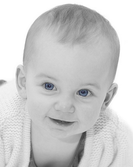 Baby with Blue eyes2 - North East Wedding Photographer.jpg