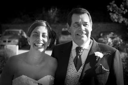 Bride and her father - North East Wedding Photographer.jpg