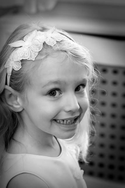 Bridesmaid Smiling - North East Wedding Photographer.jpg