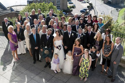 Wedding party at North Tyneside Registry - North East Wedding Photographer.jpg